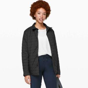 Lululemon Switch Please Black Shacket jacket